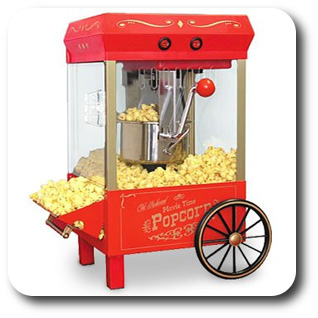 maszyna popcorn